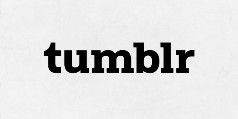 tumblr - blogging platform