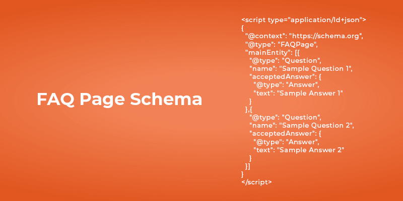Sample Faq Schema