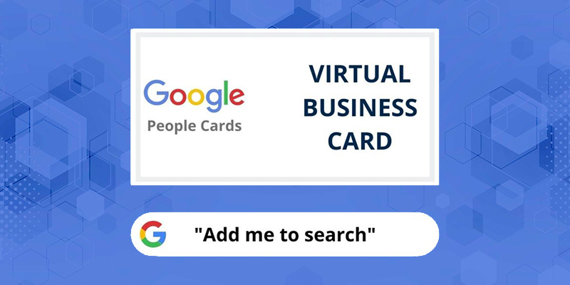 people cards on google