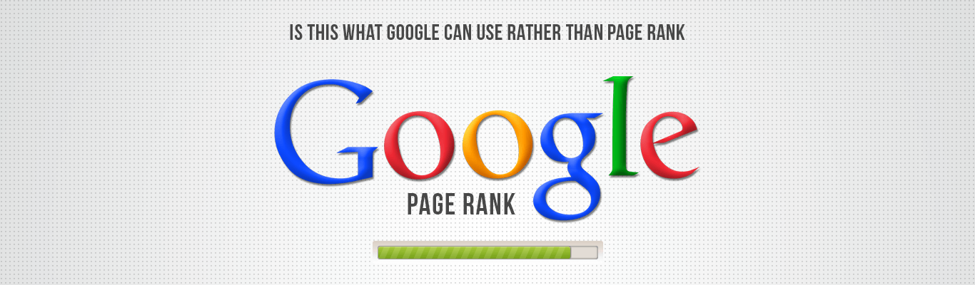 Is This What Google can Use rather than Page Rank