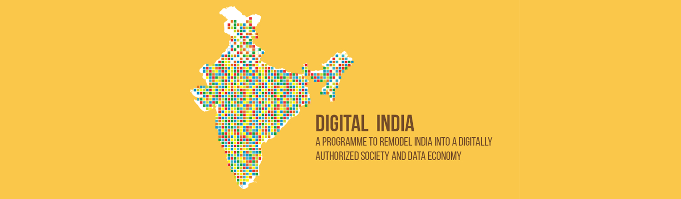 Digital India A programe to remodel India into a digitally authorized society and data economy